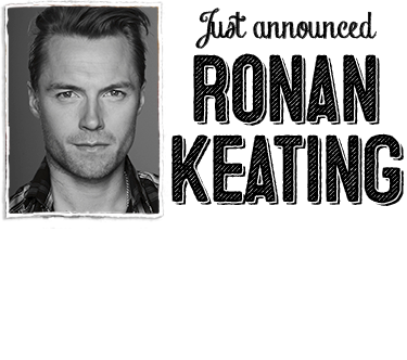 JUST ANNOUNCED - RONAN KEATING WILL JOIN THE CAST OF ONCE FROM 17 NOV 2014. Click to find out more